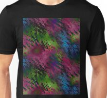 Splats, scratches and scrapes Unisex T-Shirt