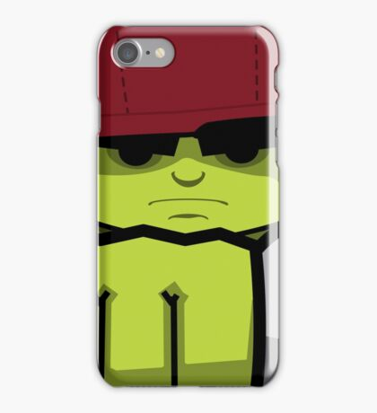 Frontal Green iPhone Case/Skin