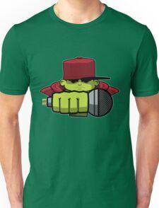 Frontal Green Unisex T-Shirt