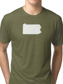 Pennsylvania Plain Tri-blend T-Shirt