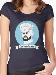 Francois Sagat as Daddy Women's Fitted Scoop T-Shirt
