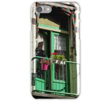 Green Balcony iPhone Case/Skin