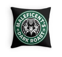 Maleficent's Dark Roast Throw Pillow