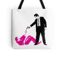 Reservoir Dogs - Mr Pink vs Mr White - Tarantine Lovers Rejoice Tote Bag