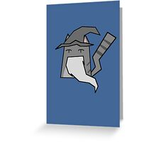 Gandalf Cat Greeting Card