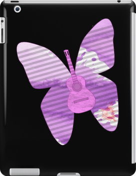 acoustic butterfly  by IanByfordArt