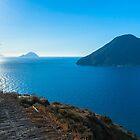 Aeolian islands from Lipari by ssviluppo