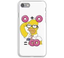 Homer Simpson - Donuts iPhone Case/Skin
