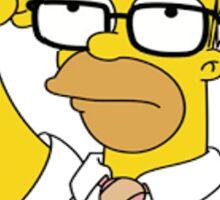 Homer Simpson - Donuts Sticker