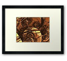 The Cogs are Still Turning Framed Print