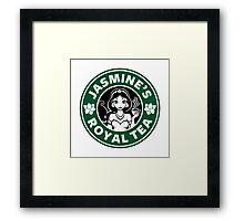Jasmine's Royal Tea Framed Print