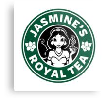 Jasmine's Royal Tea Metal Print