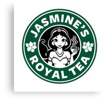 Jasmine's Royal Tea Canvas Print