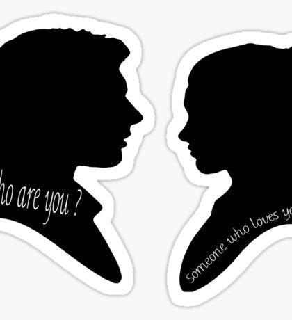 Someone who loves you • Princess Leia Han Solo Sticker