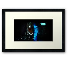 Master Chief and Cortana Framed Print