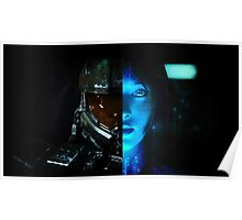 Master Chief and Cortana Poster