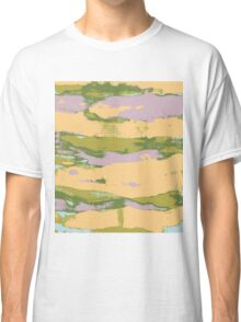 Abstract Expressionist Paint Print Classic T-Shirt