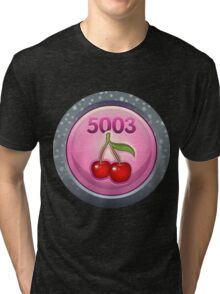 Glitch Achievement president and ceo of fruit tree harvesting inc Tri-blend T-Shirt