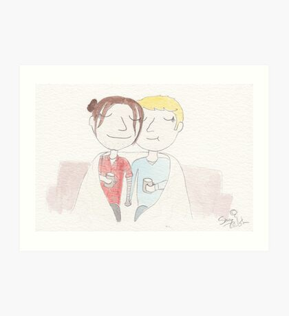 Stucky - hygge Art Print