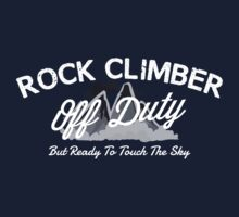 Rock Climber Off Duty T-Shirt