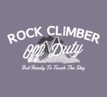 Rock Climber Off Duty Kids Clothes