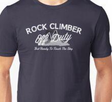 Rock Climber Off Duty Unisex T-Shirt