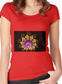 Crown of Paradise Women's Fitted Scoop T-Shirt