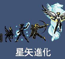 Seiya Evolution ( Pegasus Variant) by Samiel