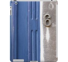Number 6 iPad Case/Skin