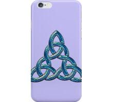 Bee Blue Celtic Triskel iPhone Case/Skin