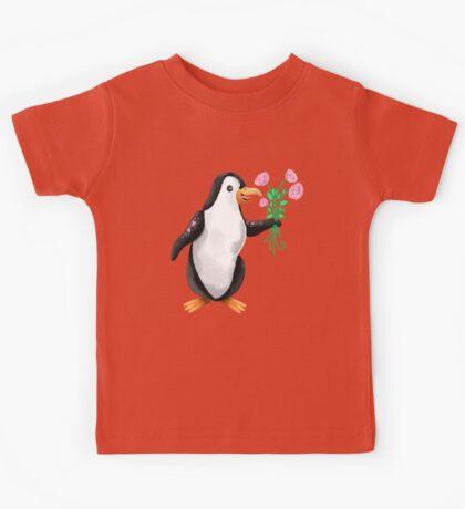 Penguin valentine  Kids Tee