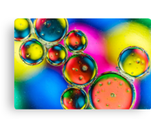 Oil & Water 3 Canvas Print