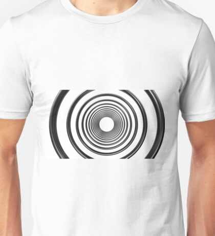 abstract futuristic circle pattern Unisex T-Shirt