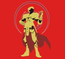 Fate Stay Night - Gilgamesh Silhouette by Tomer Abadi
