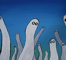 Ghosts by roseofskye