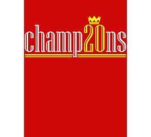 Champ20ns Photographic Print