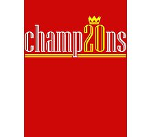 Champ20ns Photographic Print