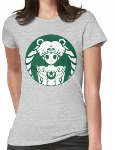 Moonbucks Womens Fitted T-Shirt