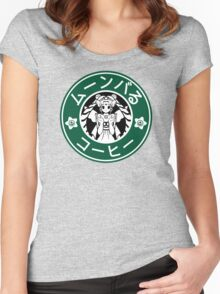 Moonbucks Coffee: Special Edition Women's Fitted Scoop T-Shirt