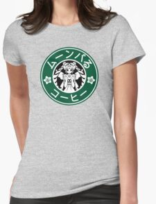 Moonbucks Coffee: Special Edition Womens Fitted T-Shirt