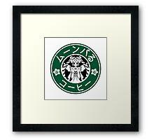 Moonbucks Coffee: Special Edition Framed Print