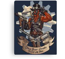 Inevitable Steampunk Version Canvas Print