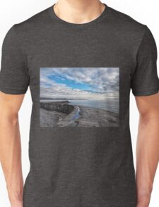 Along The Cobb Wall - January Unisex T-Shirt