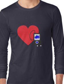 Love MP3 Long Sleeve T-Shirt