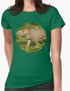 Spotted Womens Fitted T-Shirt