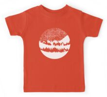 Map Silhouette Circle Kids Tee