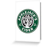 Applejack's Cider Greeting Card