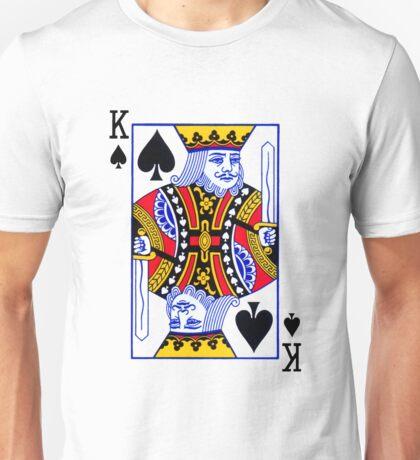 King of spades Unisex T-Shirt