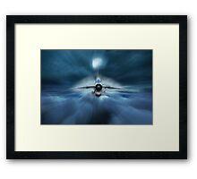 Interceptor Framed Print