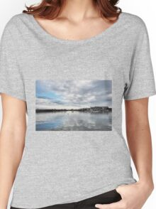 Lyme Regis Harbour - January Women's Relaxed Fit T-Shirt
